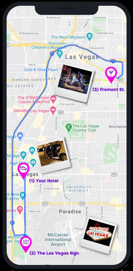 Nightclub on Wheels Vegas Route