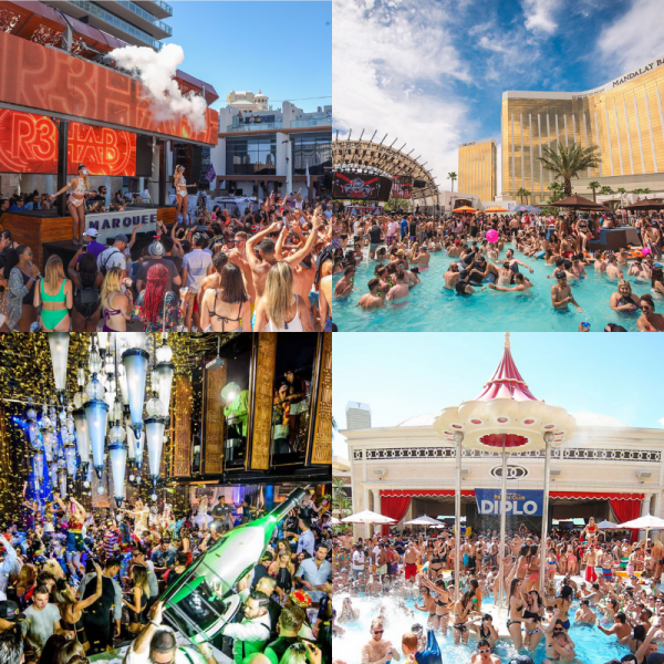 Best Vegas Pool Party Events